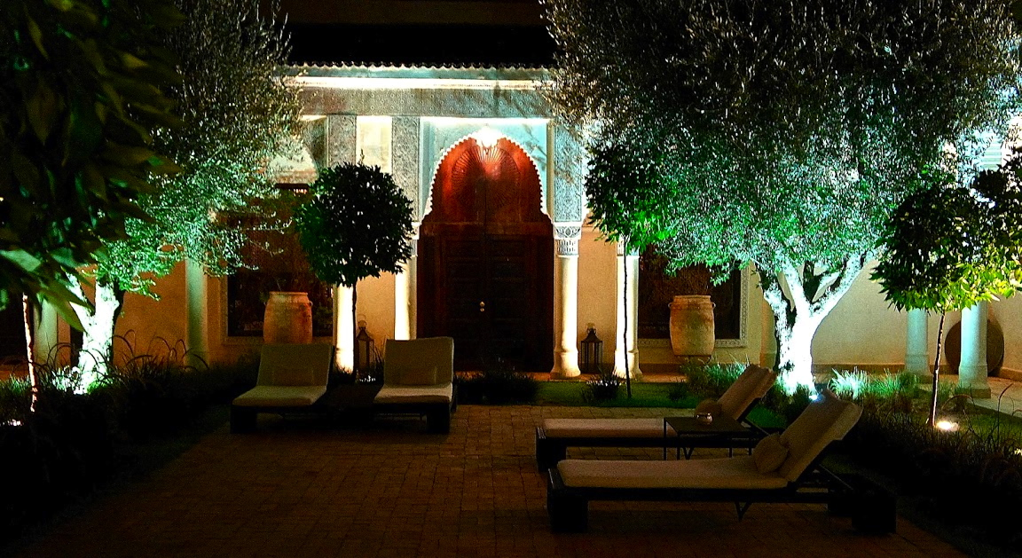Marrakech la villa des orangers night florencestyle for La villa des orangers