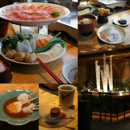 shabushabu dinner